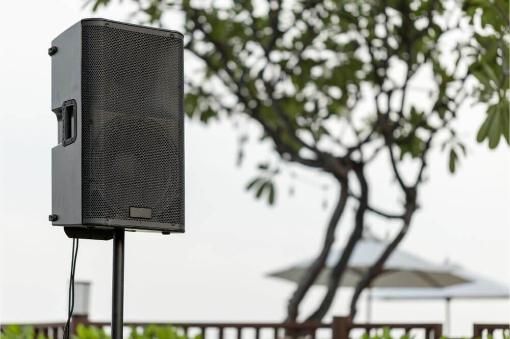 Yamaha NS-AW150BL 2-Way Indoor/Outdoor Speakers